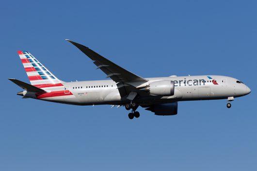 AA/AAL/アメリカン航空 AA153 B787-8 N813AN