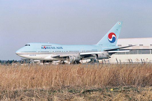 KE/KAL/大韓航空 B747SP HL7456