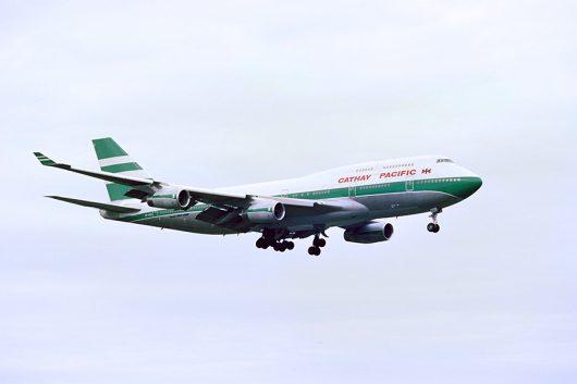 CX B747-400 AT NRT
