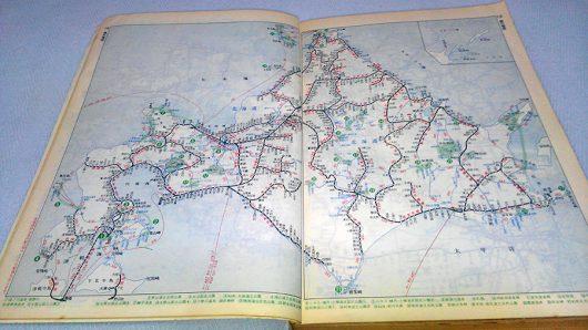1977年の路線図
