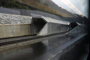 ゴッタルドベーストンネル入口