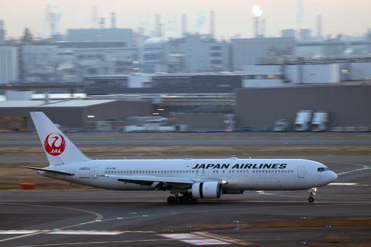 JL/JAL/日本航空 JL124 B767-300ER JA601J