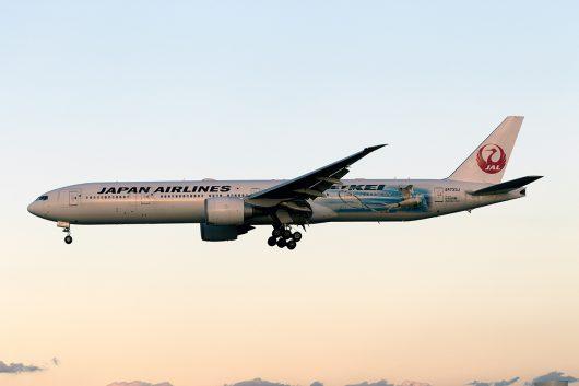 JL/JAL/日本航空  B777-300ER JA733J