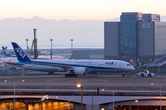 NH/ANA/全日空 トーイング B787-9 JA879A