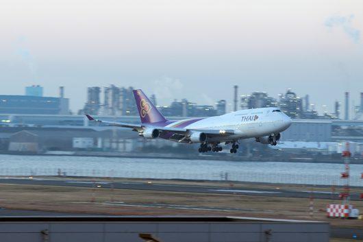 TG/THA/タイ国際航空 TG682 B747-400 HS-TGP