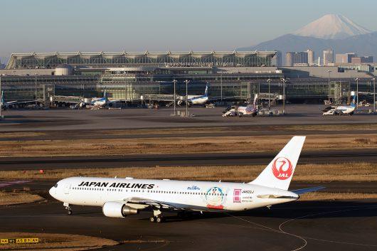 JL/JAL/日本航空 JL103 B767-300ER JA622J