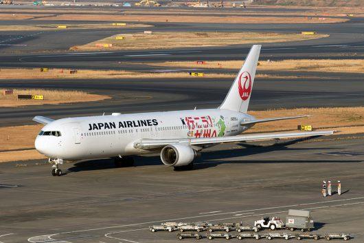JL/JAL/日本航空 JL573 B767-300ER JA656J