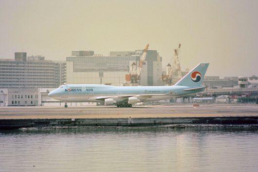 KE/KAL/大韓航空 B747-400 HL7484