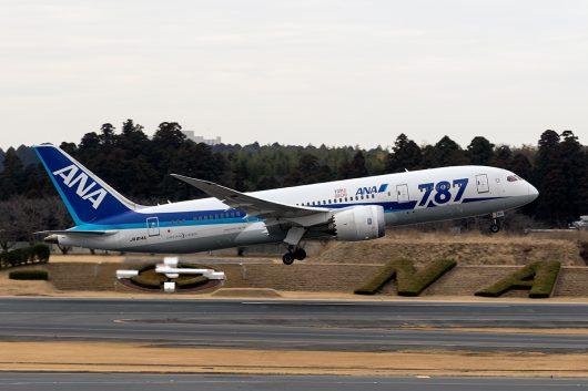 NH/ANA/全日空 NH231 B787-8 JA814A