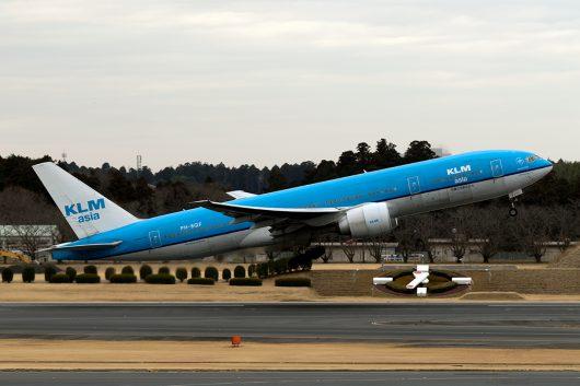 KL/KLM/KLMオランダ航空 KL862 B777-200ER PH-BQF