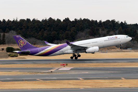 TG/THA/タイ国際航空 TG643 A330-300 HS-TBD