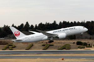 JL/JAL/日本航空 JL12 B787-8 JA838J