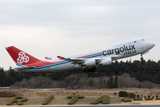 C8/ICV/カーゴルクス・イタリア C8573 B747-400F LX-YCV