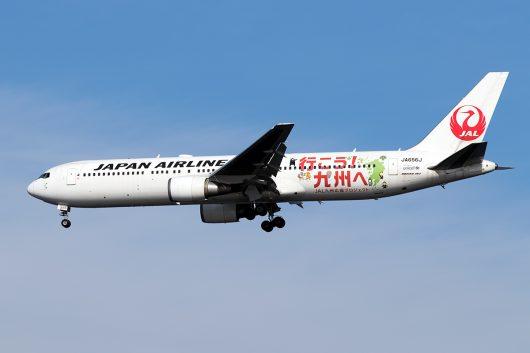 JL/JAL/日本航空 JL646 B767-300ER JA656J