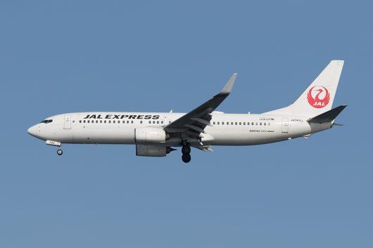 JL/JAL/日本航空 JL640 B737-800 JA344J