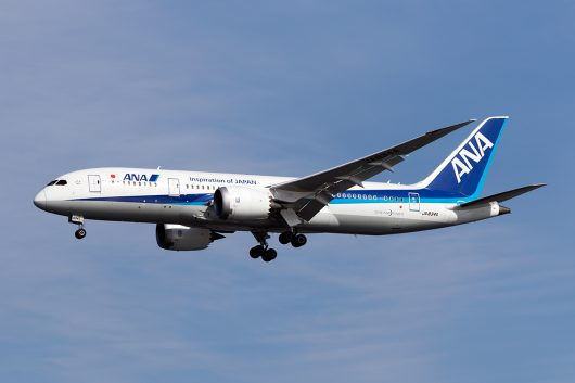 NH/ANA/全日空 NH864 B787-8 JA834A