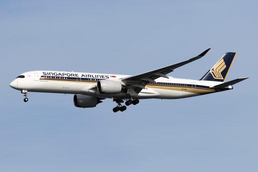 SQ/SIA/シンガポール航空 SQ632 A350-900 9V-SMC