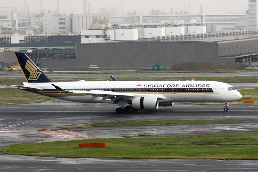 SQ/SIA/シンガポール航空  A350-900 9V-SMH