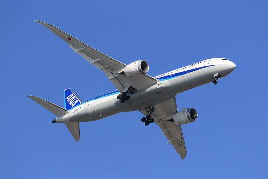 NH/ANA/全日空  B787-9 JA833A