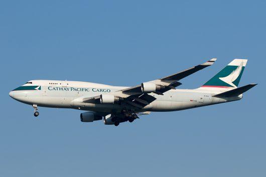 CX/CPA/キャセイパシフィック航空 CX6 B747-400F B-HKX