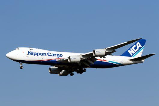 KZ/NCA/日本貨物航空 KZ89 B747-8F JA18KZ