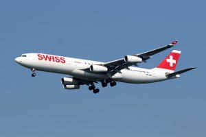 LX/SWR/スイス国際航空 LX160 A340-300 HB-JMH