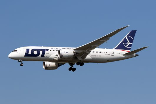 LO/LOT/LOTポーランド航空 LO79 B787-8 SP-LRB