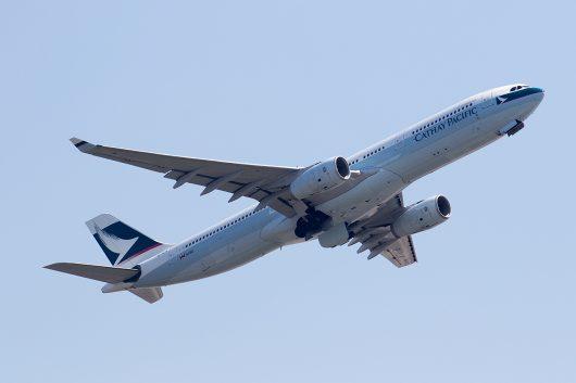 CX/CPA/キャセイパシフィック航空 CX509 A330-300 B-HLM