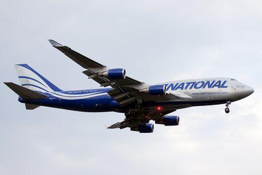 N8/MUA/ナショナル・エア・カーゴ  B747-400F(BCF) N952CA