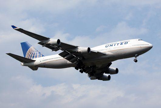 UA/UAL/ユナイテッド航空  B747-400 N175UA