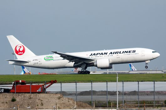 JL/JAL/日本航空  B777-200ER JA705J