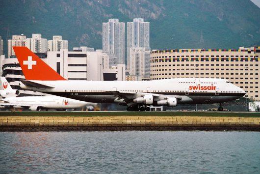 SR/SWR/スイス航空 B747-300 HB-IGD