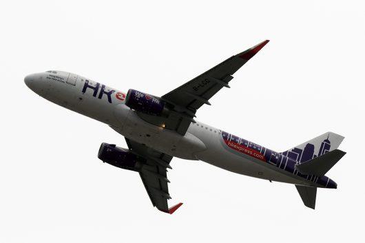 UO/HKE/香港エクスプレス航空  A320 B-LCC