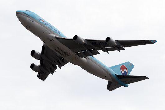 KE/KAL/大韓航空  B747-400 HL7495