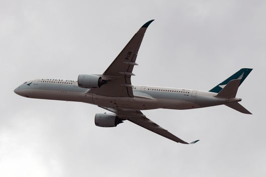 CX/CPA/キャセイパシフィック航空  A350-900 B-LRN