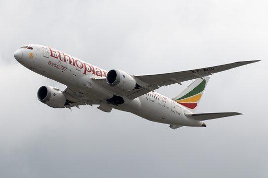 ET/ETH/エチオピア航空  B787-8 ET-AOV