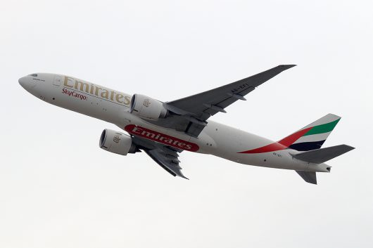 EK/UAE/エミレーツ航空  B777F A6-EFI