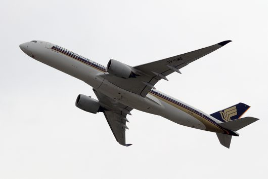 SQ/SIA/シンガポール航空  A350-900 9V-SMD