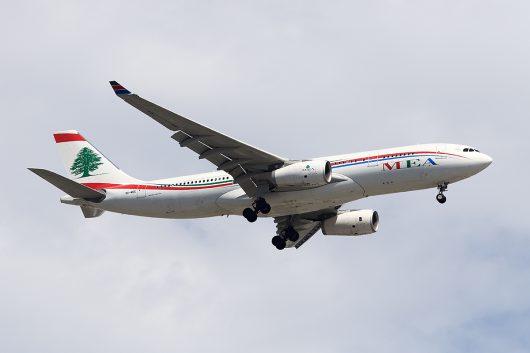 ME/MEA/ミドル・イースト航空  A330-200 OD-MEE