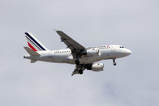 AF/AFR/エールフランス  A318 F-GUGF