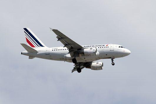 AF/AFR/エールフランス  A318 F-GUGO