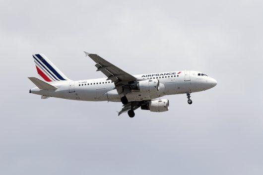 AF/AFR/エールフランス  A319 F-GRHE
