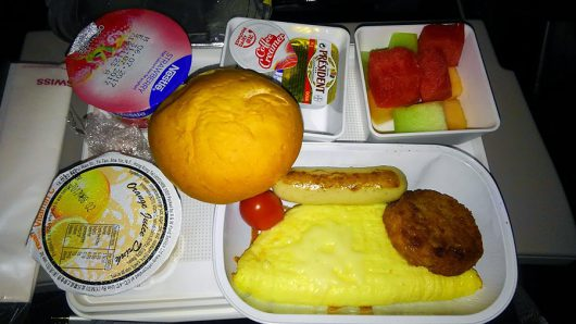 LX139の朝食