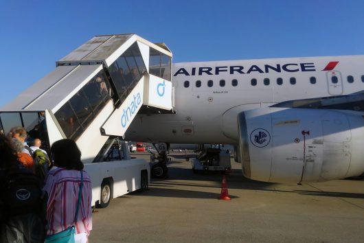 AF1415搭乗