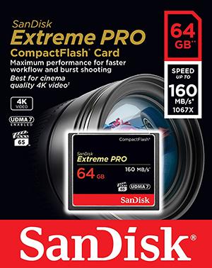 サンディスク Extreme PRO  64GB