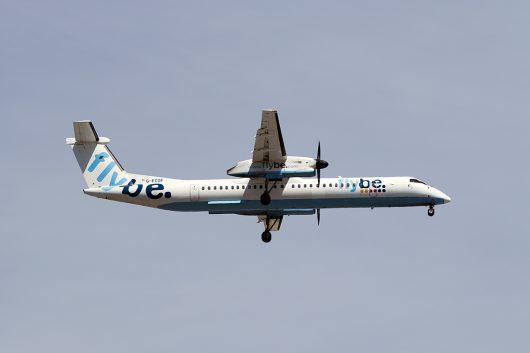 BE/BEE/フライビー  DHC8-400 G-ECOF