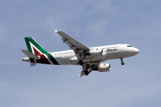 AZ/AZA/アリタリア航空  A319 EI-IMJ