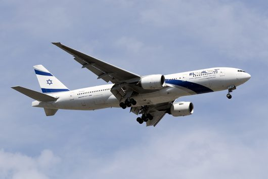 LY/ELY/エルアルイスラエル航空  B777-200 4X-ECE