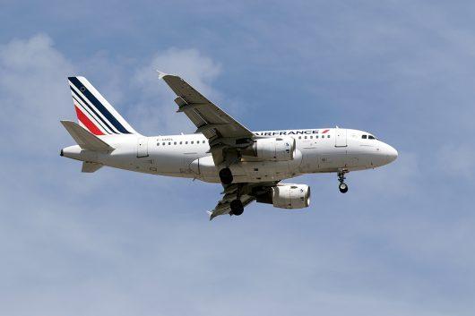 AF/AFR/エールフランス  A318 F-GUGL