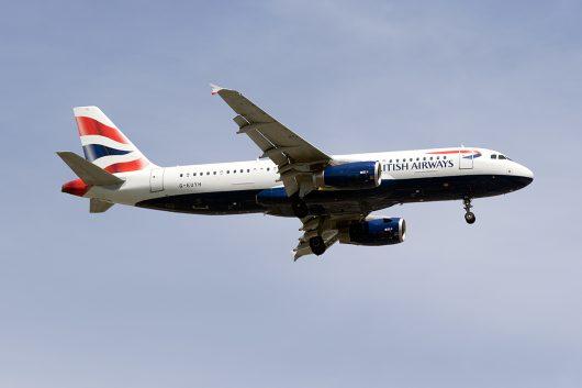 BA/BAW/ブリティッシュ・エアウェイズ  A320 G-EUYH